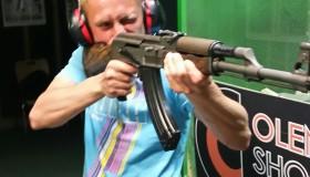 Zdjęcia ze strzelnicy sportowej